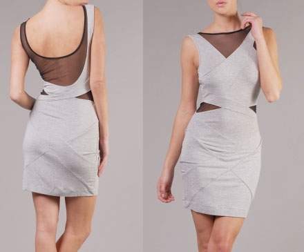 Herve Leger Knockoff Inspired Dress Look for Less
