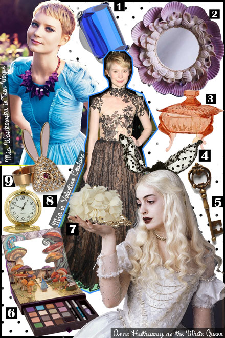 Inspiration Board: Alice in Wonderland Fashion