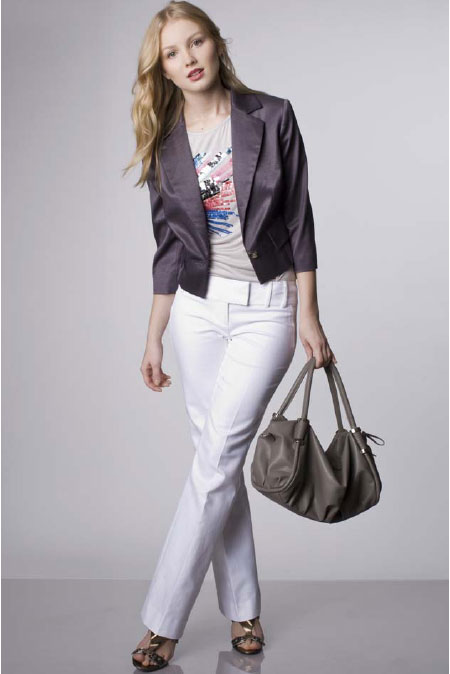 Jodi Arnold for The Limited Spring 2010 Lookbook