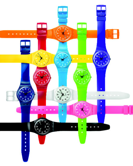 Modern Retro: SWATCH Launches Colour Codes Collection