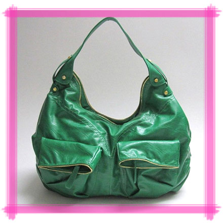 Win Cool Stuff: Designer-Inspired Green Hobo from MimiBoutique.com