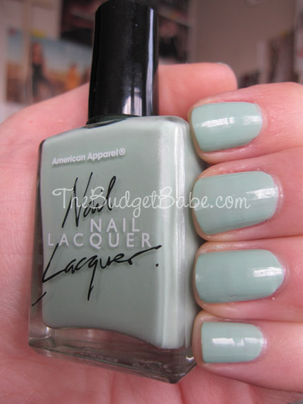 Beauty Review American Apparel Nail Polish In Office The Budget Babe Affordable Fashion