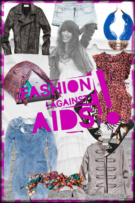 Inspiration Board: Fashion Against AIDS at H&M