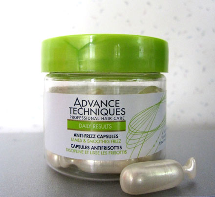 Beauty Review: Avon Advance Techniques Anti-Frizz Capsules