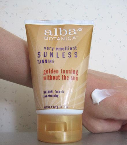 Beauty Review: Alba Botanica Golden Tan Sunless Tanning