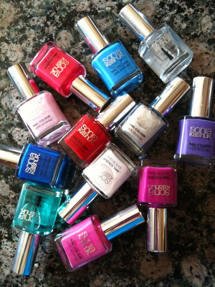 Beauty Review: Sonia Kushak for Target Nail Polish