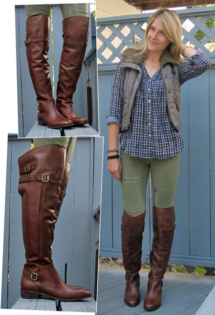Motorcycle Riding Pants >> What I'm Wearing: Peter Over-the-Knee Boots from LOFT ...