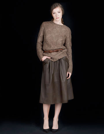 Best On A Budget: Brown Leather Skirts - The Budget Babe ...