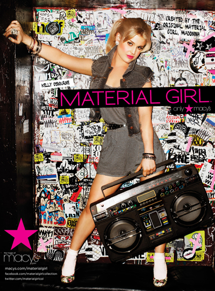 Kelly Osbourne is the New Material Girl for Spring 2011