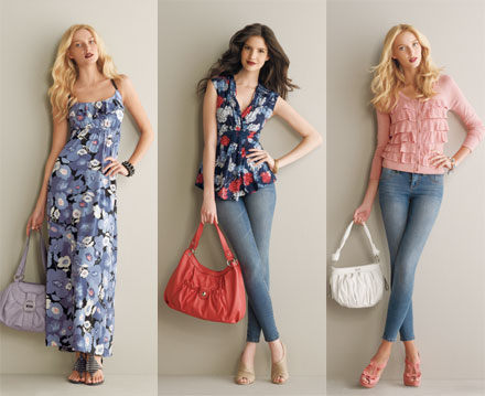 ELLE for Kohl's Spring 2011 Lookbook