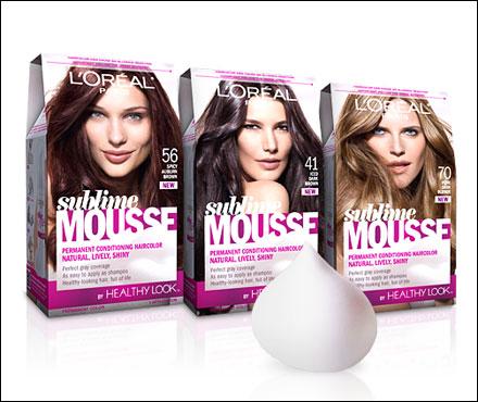 Save $3 on New L'Oreal Paris Sublime Mousse Hair Color