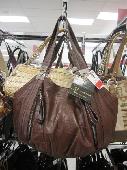 B Makowsky Brown Leather Hobo 69 Compare At 218
