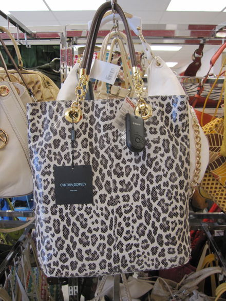 2ffec61ae66c Cynthia Rowley leopard tote with leather handles, $99.99 (compare at price  unknown)