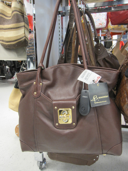 B Makowsky Brown Leather Tote 169 99 Compare At 289