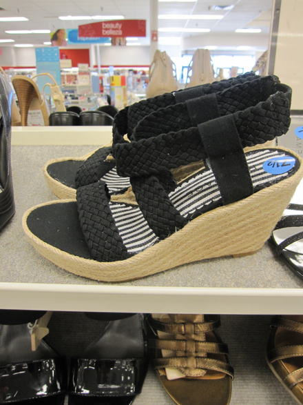 e7b866ba23c563 Off the Rack  March Shoes at T.J. Maxx - The Budget Babe ...