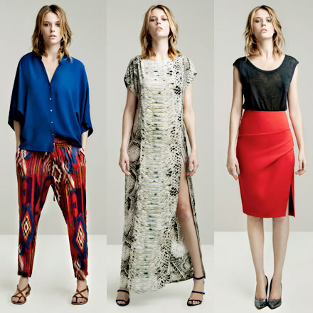 41076560 I'm a little late posting these but today's the unofficial start of summer,  so at least you can fantasize about wearing these fashions right now. Zara  is ...