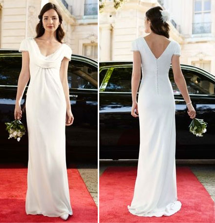 Pippa middleton wedding dress knock off for Wedding dress like pippa middleton