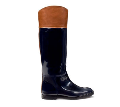 The Look for Less: Chanel Two-Tone Riding Boots - The Budget Babe ...