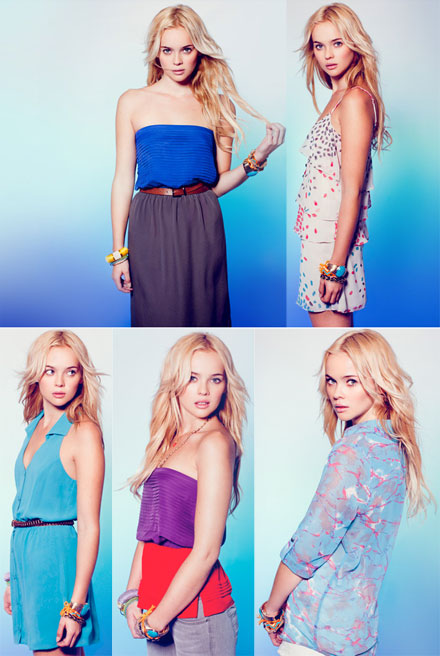 Rory Beca returns to Forever 21 with a spring 2012 collection