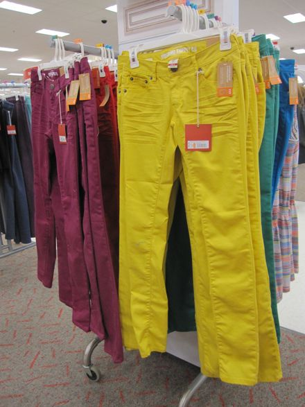 During My Last Trip To Target I Spied Dozens Of Other Ways Could Spend Money Jason Wu Notwithstanding Standouts Included Colored Denim 22 99