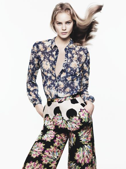 ZARA TRF Spring 2012 Lookbook