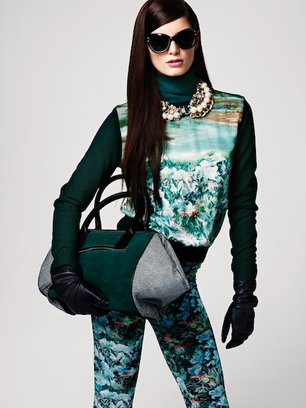 H&M Fall Autumn 2012 Women Lookbook Images
