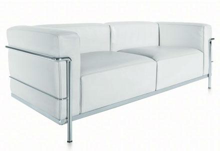 Le Corbusier Leather Sofa Whole Interiors 610 Le Corbusier