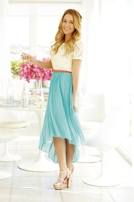 LC Lauren Conrad for Kohl's Summer Lookbook