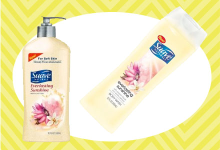 Win Suave Everlasting Sunshine Body Wash and Lotion