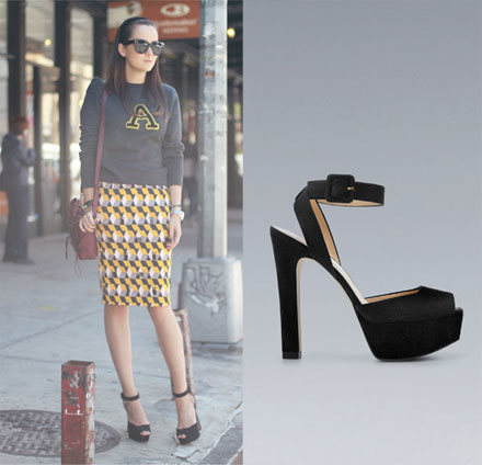 The Look for Less: Zara Ankle Strap Platform Heels - The Budget ...