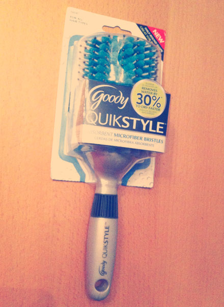 Goody QuikStyle Half-Round Styling Brush: A Review