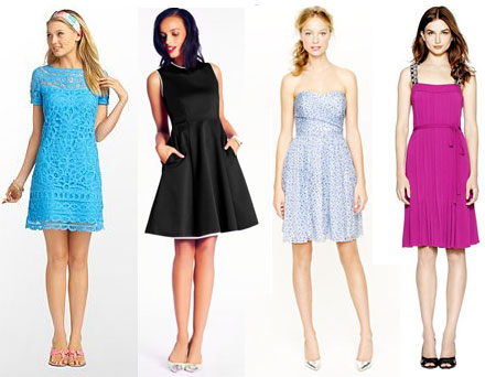 Dresses For Wedding Guests Fall 2013 Preppy chic designer dress