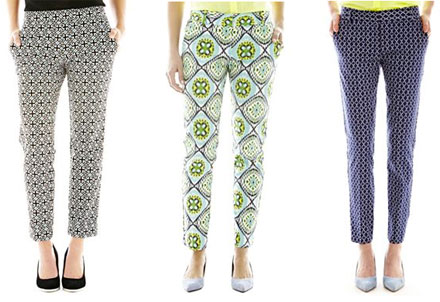 f2a1756caa8e Ask BB  J.Crew Collection Cafe Capri Pant Look for Less - The Budget ...