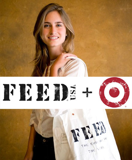 Target teams with FEED and Lauren Bush