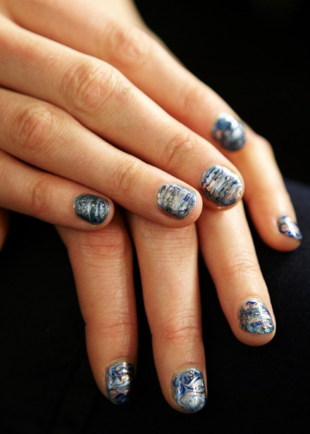 Rebecca Minkoff Night Sky Nails by Essie