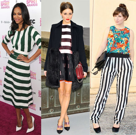 spring fashion trend 2013 bold stripes