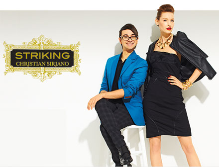 Striking by Christian Siriano for HSN