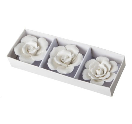 white flower magnets at target