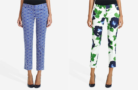 Flower Capri Pants | Gpant