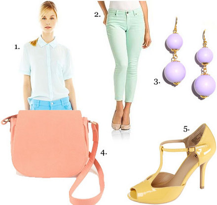 Spring 2013 Fashion Trend: Pretty Pastels