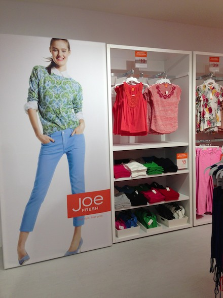 Budget Babe reviews the new Joe Fresh for JCP clothing line