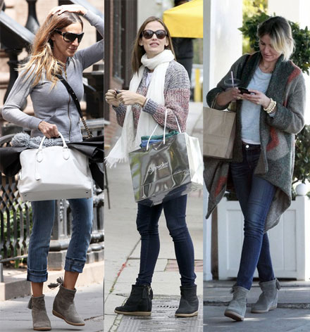 Celebs love the Isabel Marant Basley boot
