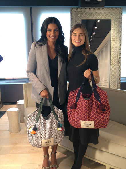 Rachel Roy and Lauren Bush Lauren