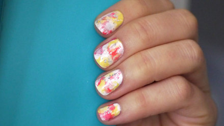 Watercolor Nails Tutorial