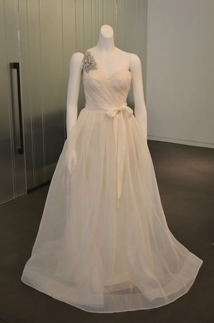 WHITE by Vera Wang for David's Bridal Fall 2013 Collection Photos