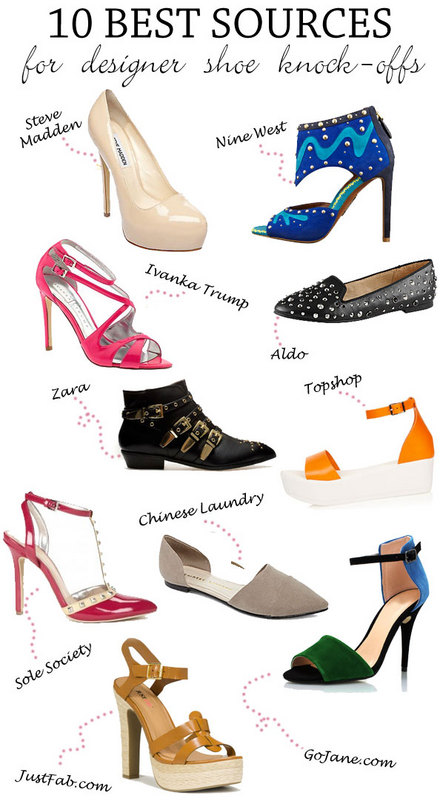 THEBUDGETBABE.COM: The 10 Best Sources for Designer Shoe Knock-Offs