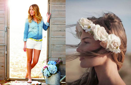 Lauren Conrad's summer looks for Kohl's, Kate Bosworth's festival chic fashions for Topshop