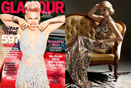 Pink covers Glamour, Great Gatsby fashion and more