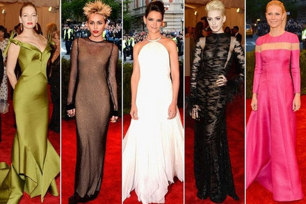 Best dressed celebs at the 2013 Met Gala