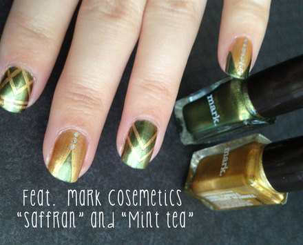 BunnieXOXO's 'Great Gatsby' art deco nail art tutorial